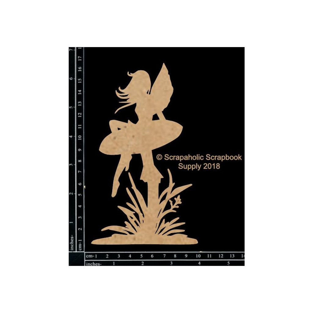 Scrapaholics - Laser Cut Chipboard - Fairy #1 (S51623)