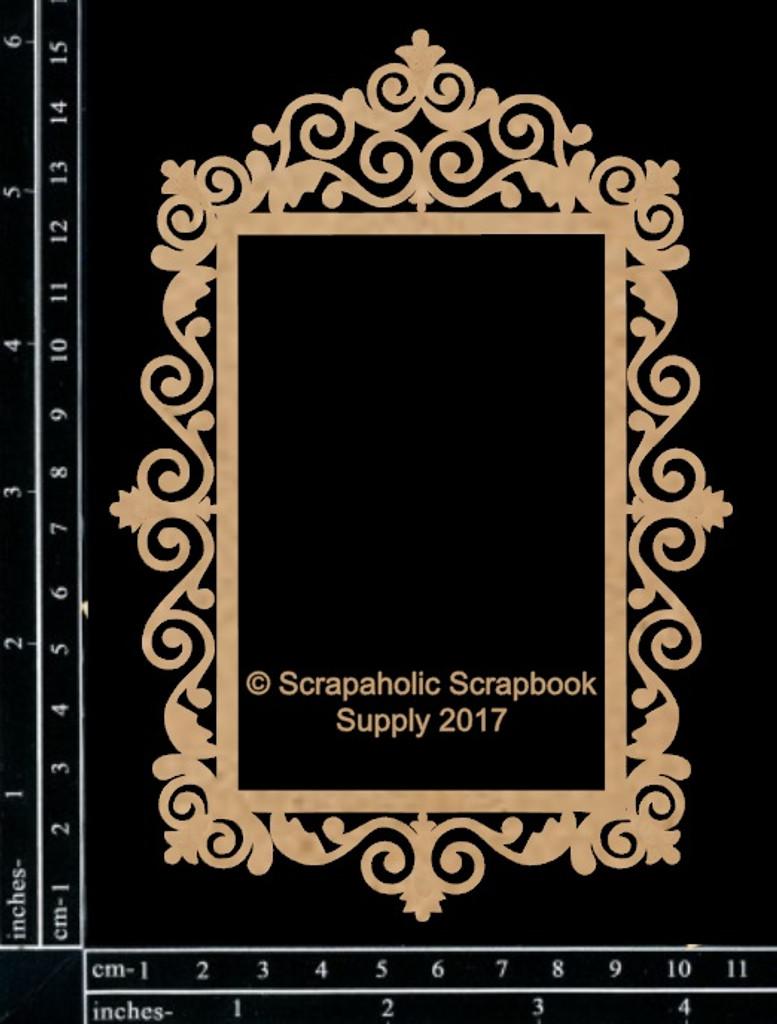 Scrapaholics - Laser Cut Chipboard - Elegant Frame (S51630)