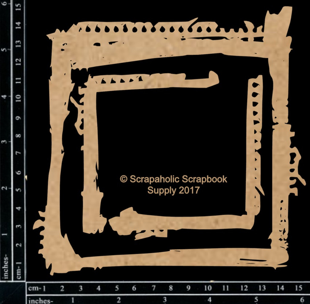 Scrapaholics - Laser Cut Chipboard - Grunge Frame Set (S51371)