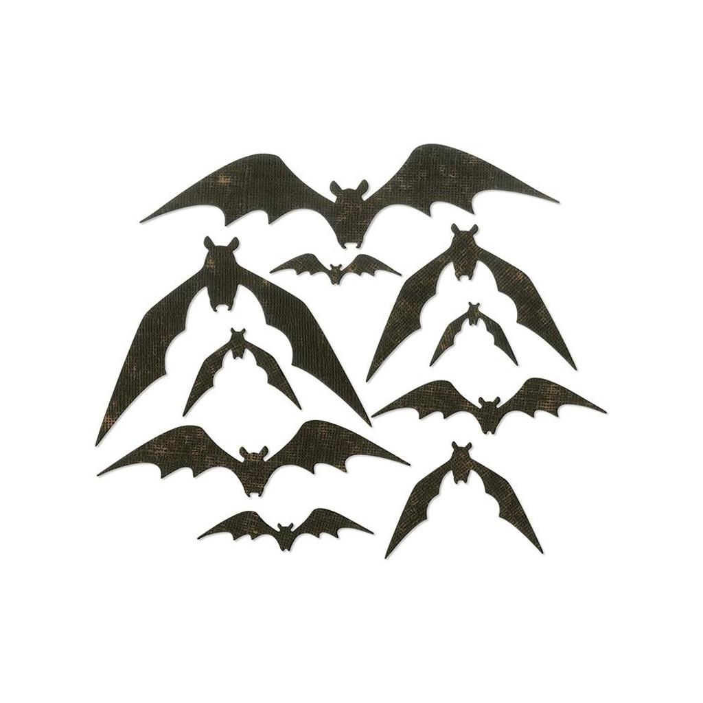 Sizzix - Tim Holtz - Framelits Dies - Bat Crazy (664203)