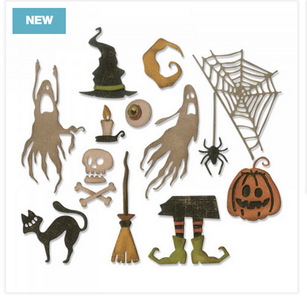 Sizzix - Tim Holtz - Framelits Dies - Frightful Things (664209)
