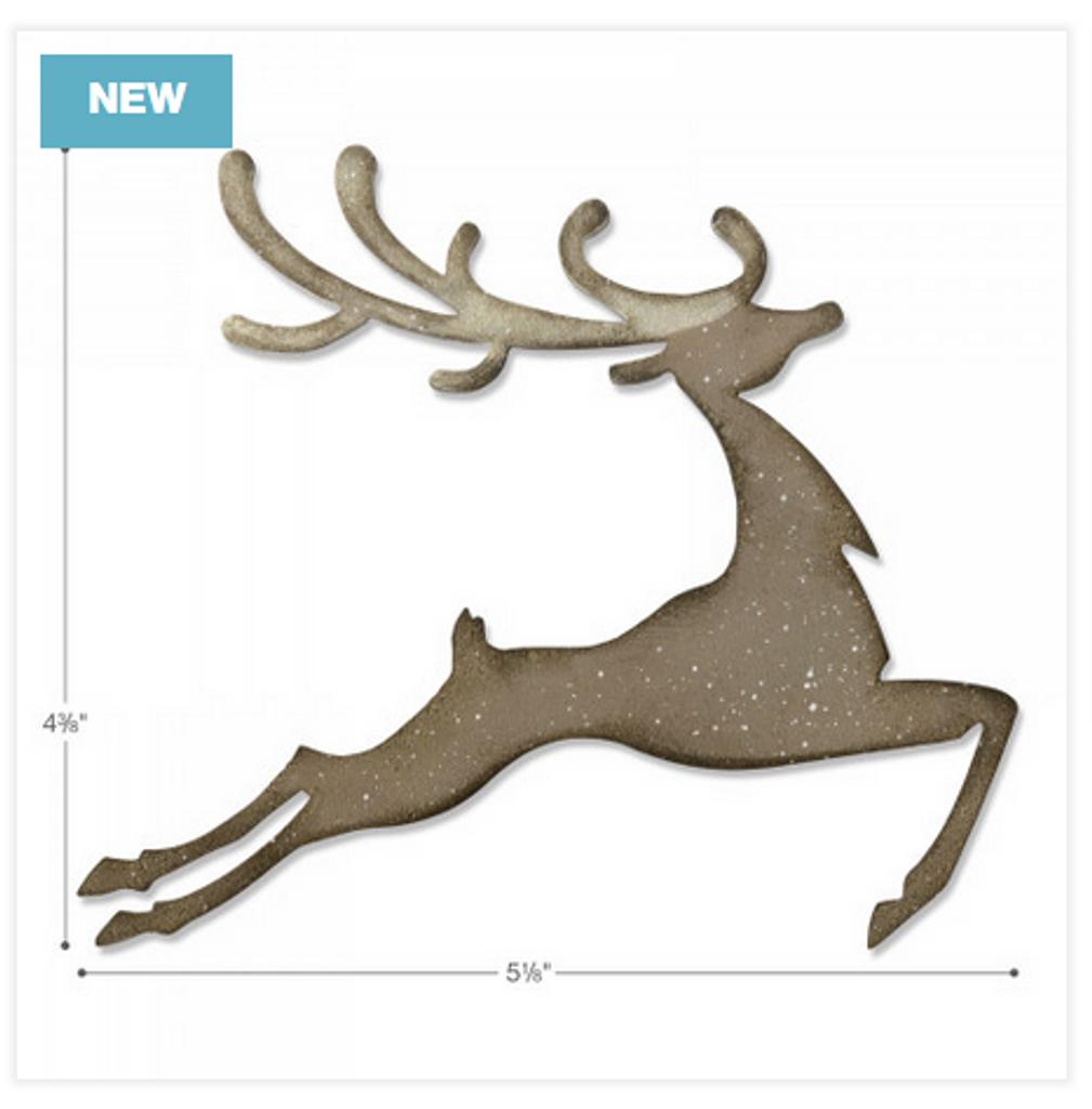 Sizzix - Tim Holtz - Bigz Dies - Reindeer (664219)