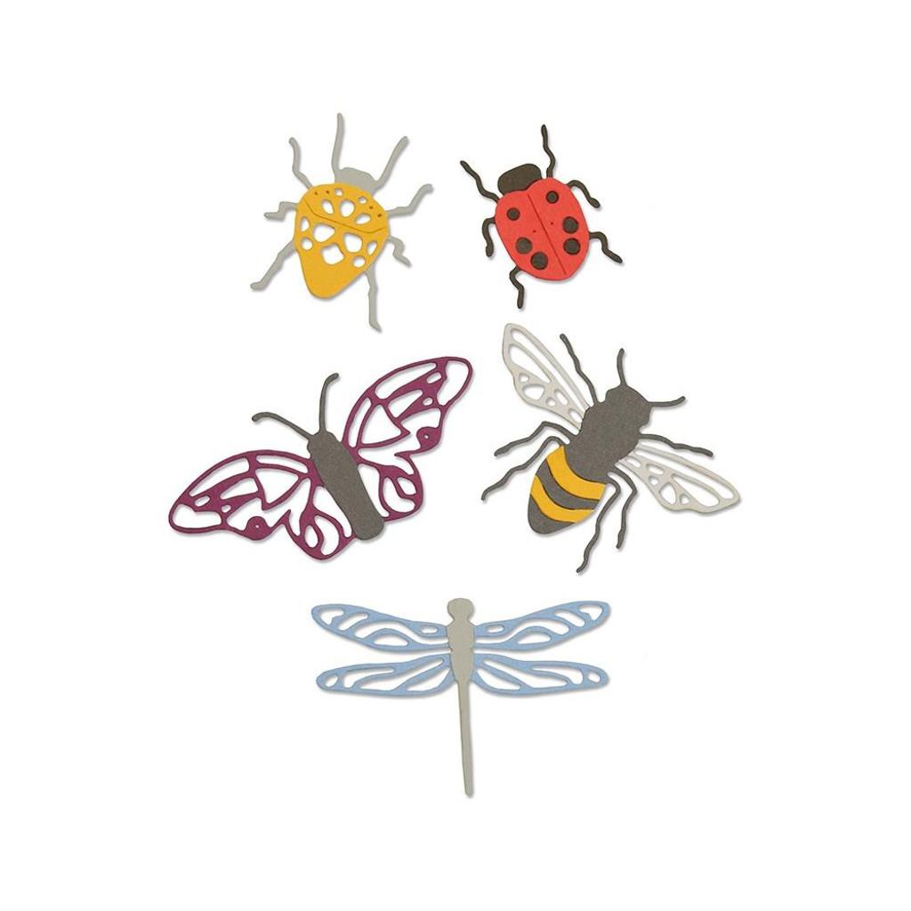 Sizzix - Jennifer Ogborn - Thinlits Die Set - Insects (663423)
