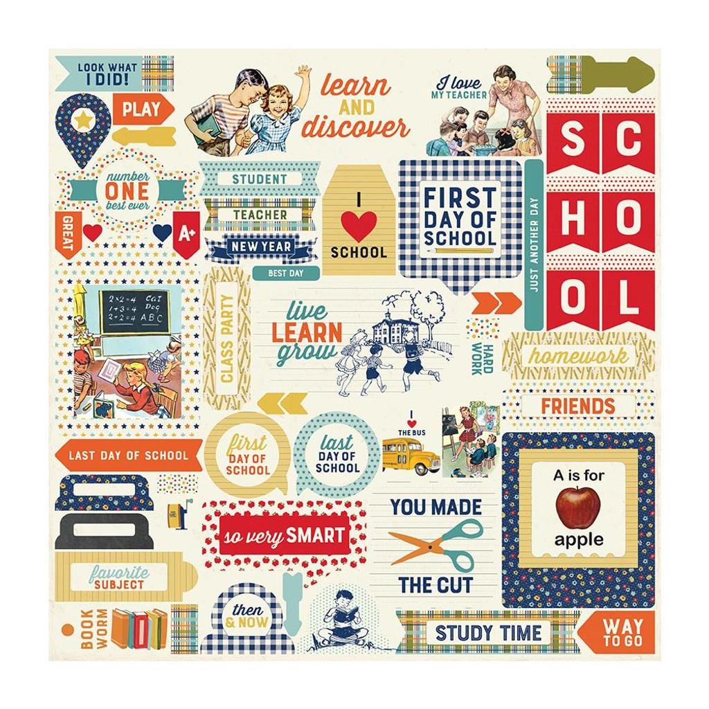 Authentique - Collection Kit 12x12 - Scholastic (BTS011)