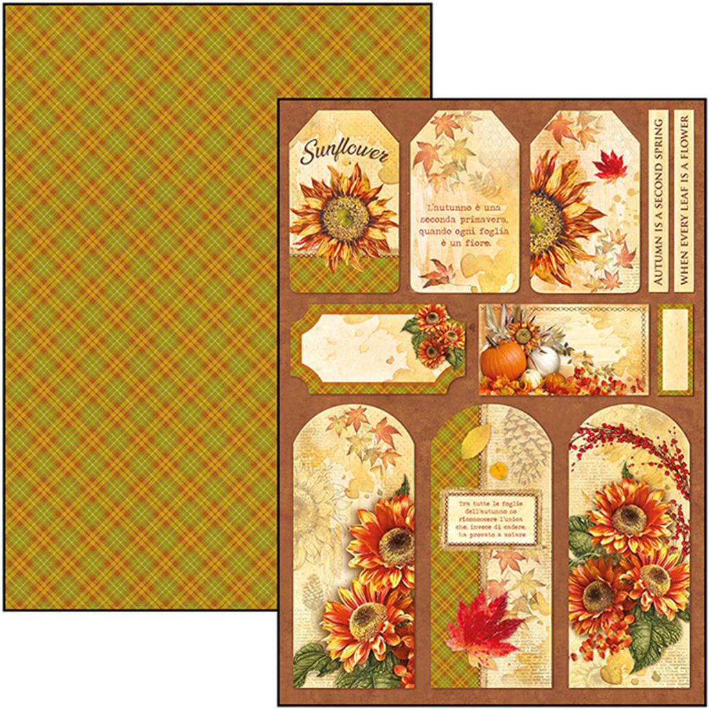 Ciao Bella - Creative Pad A4 9/Pkg - Sound of Autumn (CBCL023)