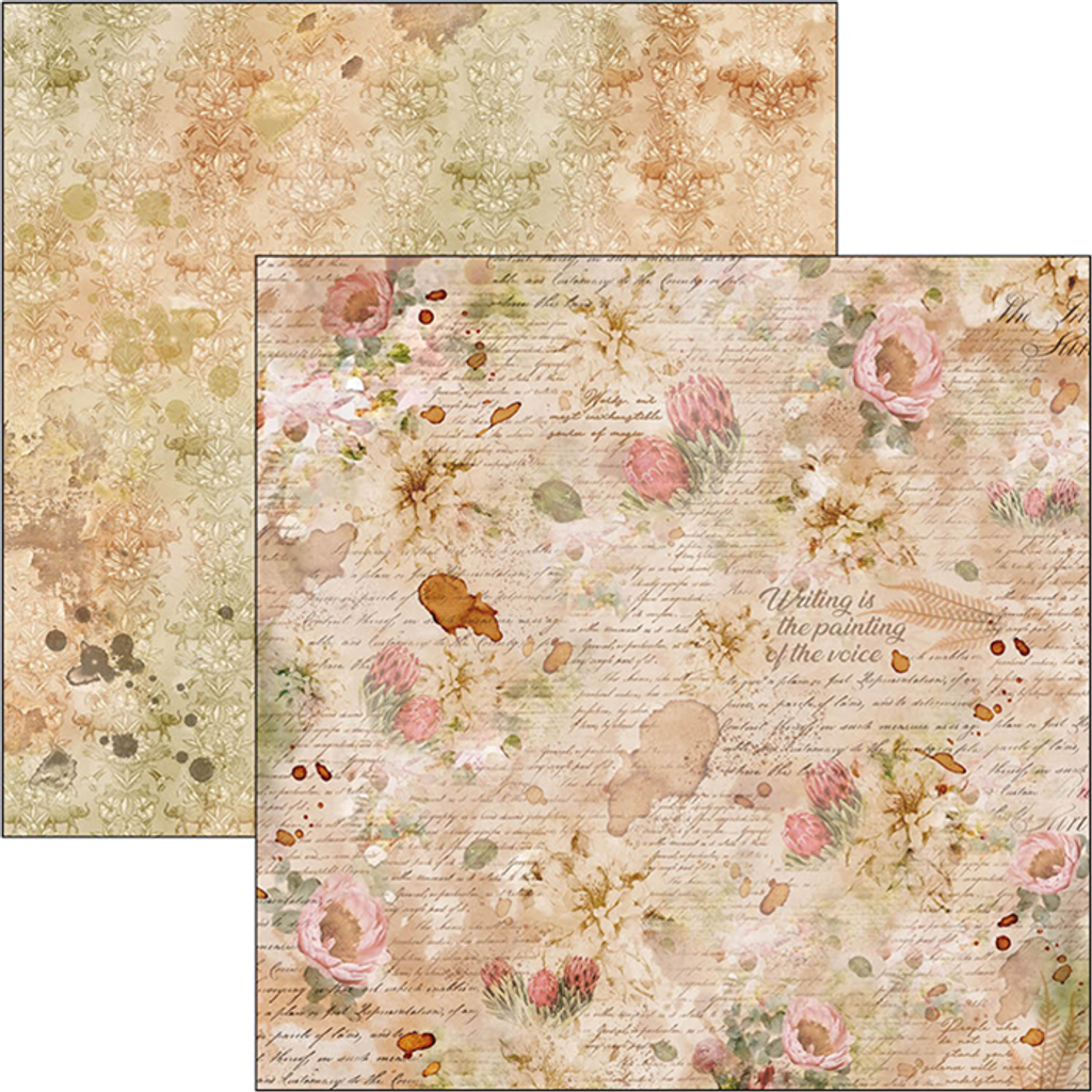 Ciao Bella - ColleCiao Bella - Double-Sided Cardstock 12x12 - The Muse - Inexhaustible Source Of Magic (CBSS091)ction Pack 12x12 - The Muse (CBPM028)