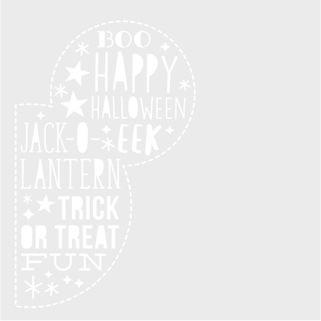Simple Stories -Stencil - Say Cheese Halloween (SCH11023)