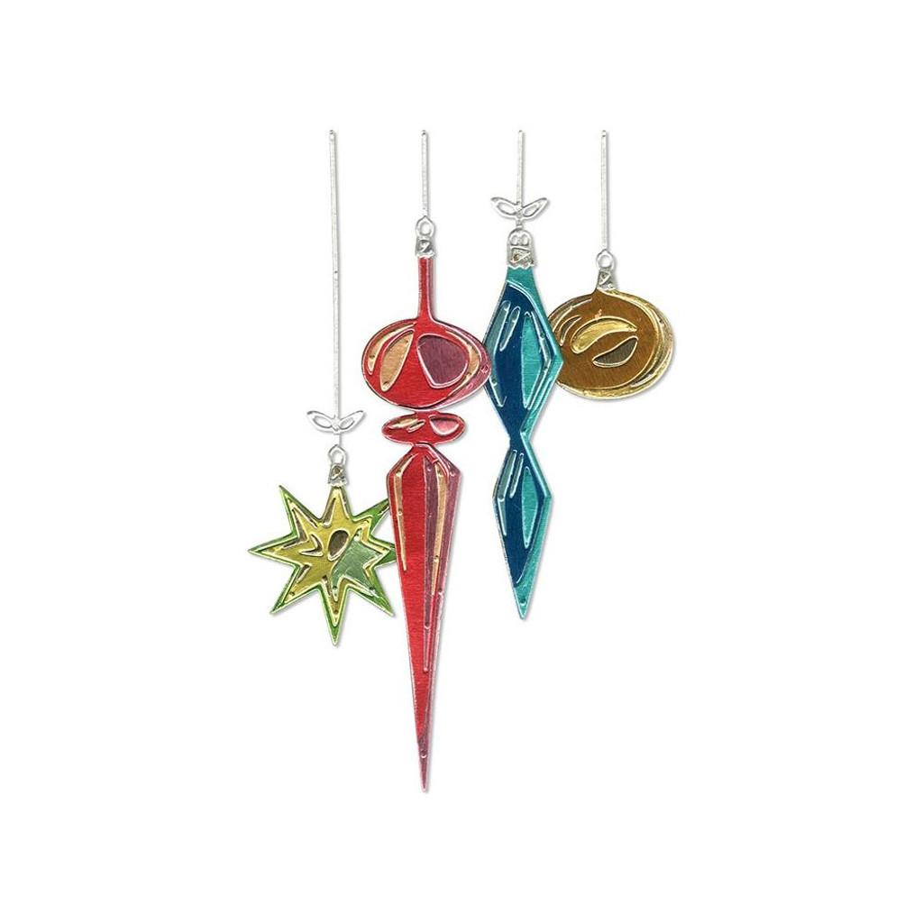 Sizzix - Tim Holtz - Framelits Dies - Hanging Ornaments (664197)