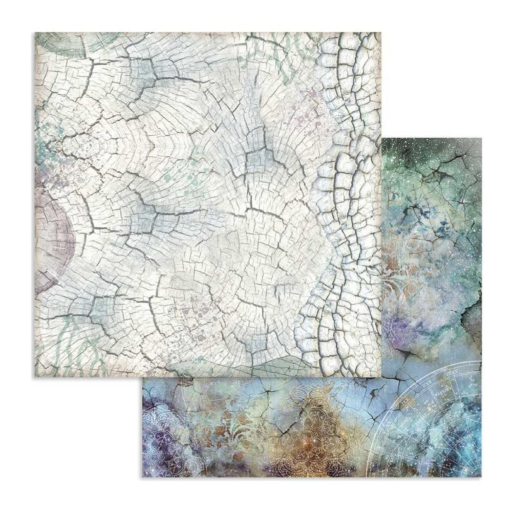 Stamperia - Double-Sided Cardstock 12x12 - Cosmos - Cosmos Bark (SBB615)
