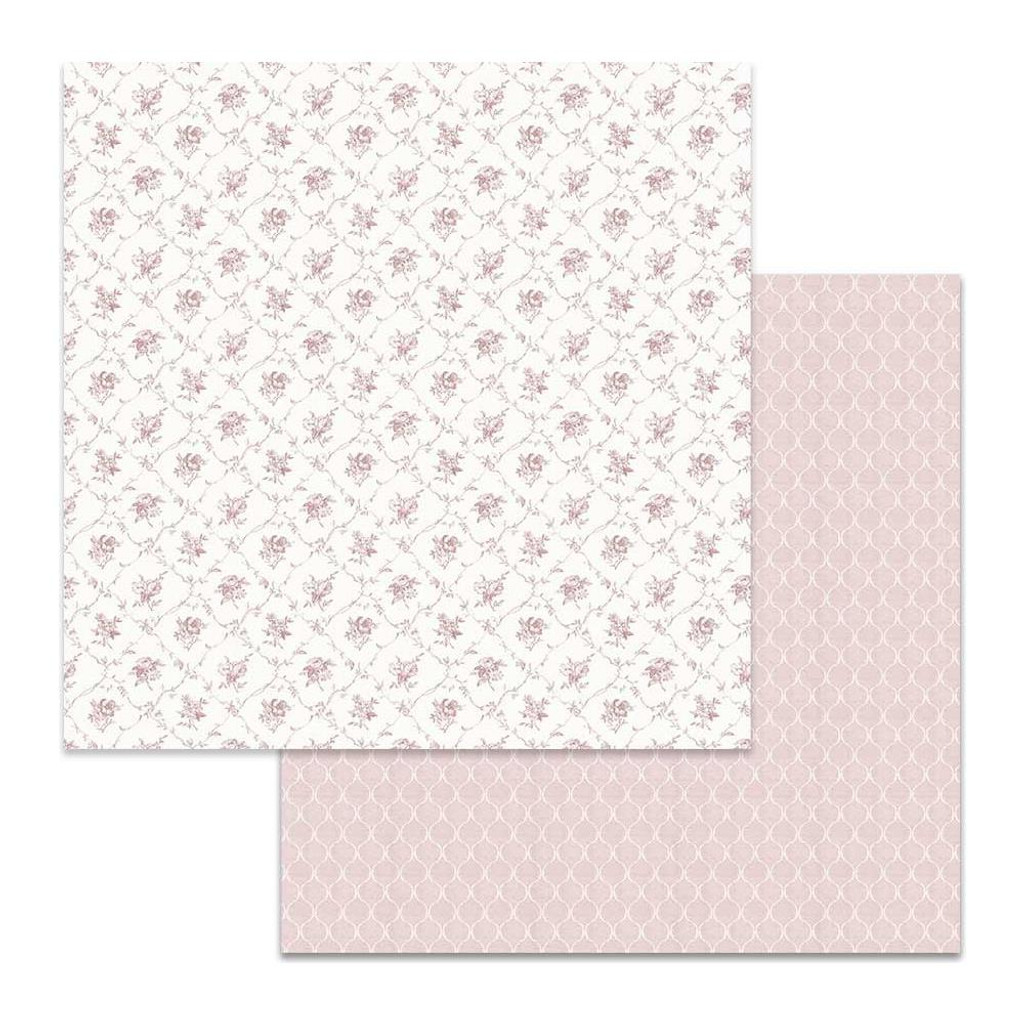 Double-Sided Cardstock 12x12 - Texture Little Flowers (SBB624)