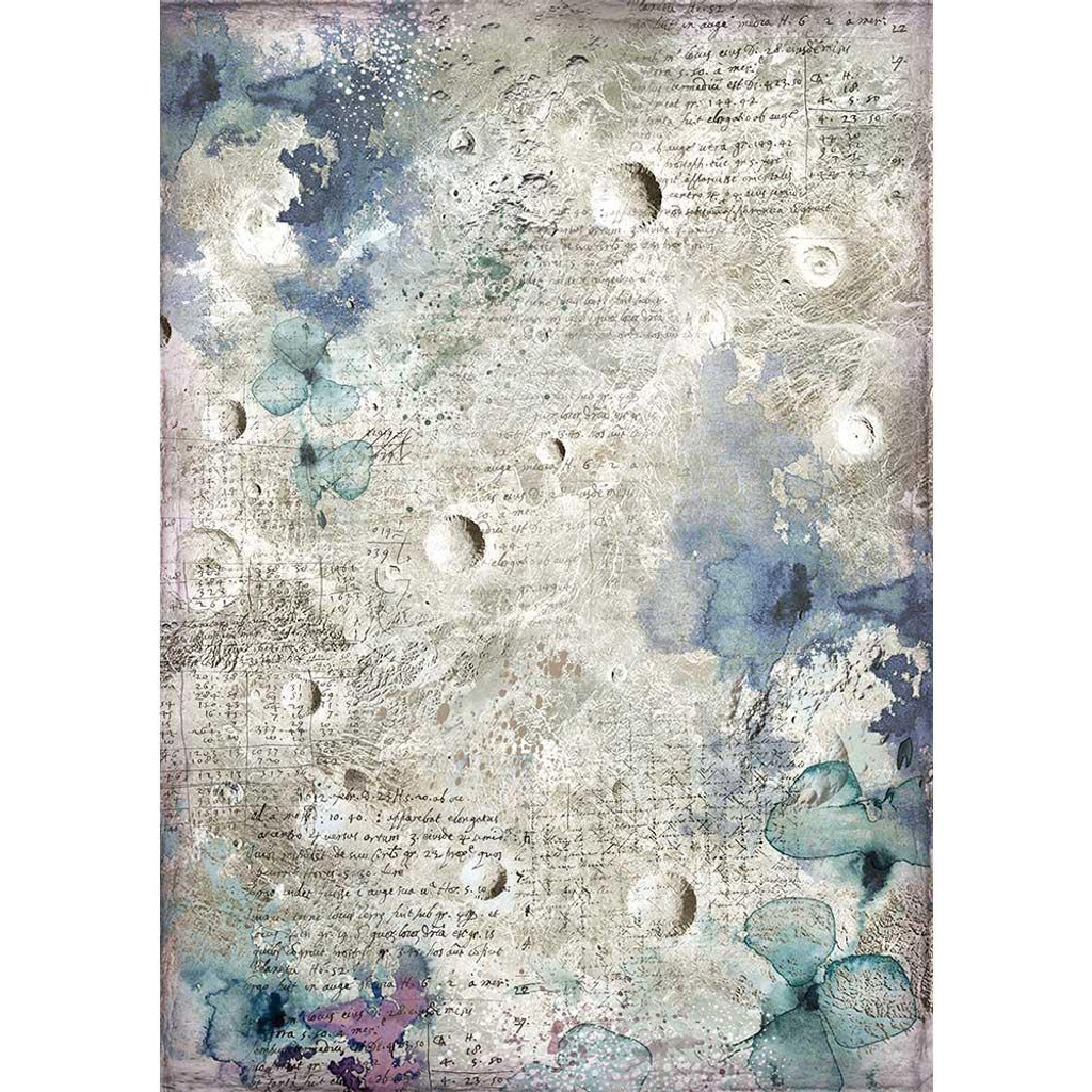 Stamperia - Decoupage Rice Paper A4 - Cosmos Collection - Cosmos Astral (DFSA4386)
