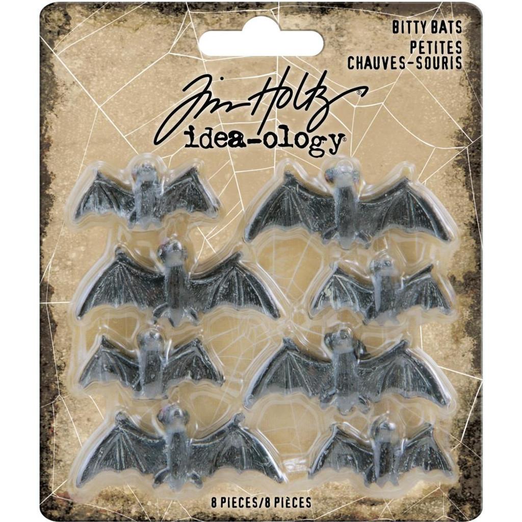 Tim Holtz - Idea-Ology - Halloween - Bitty Bats (TH93981)