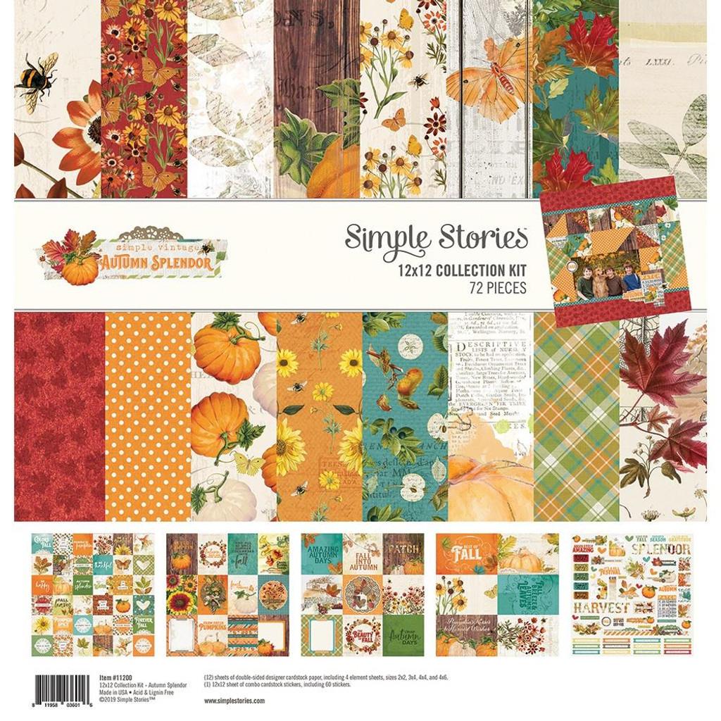 Simple Stories - Collection Kit 12x12 - Autumn Splendor (UTS11200)