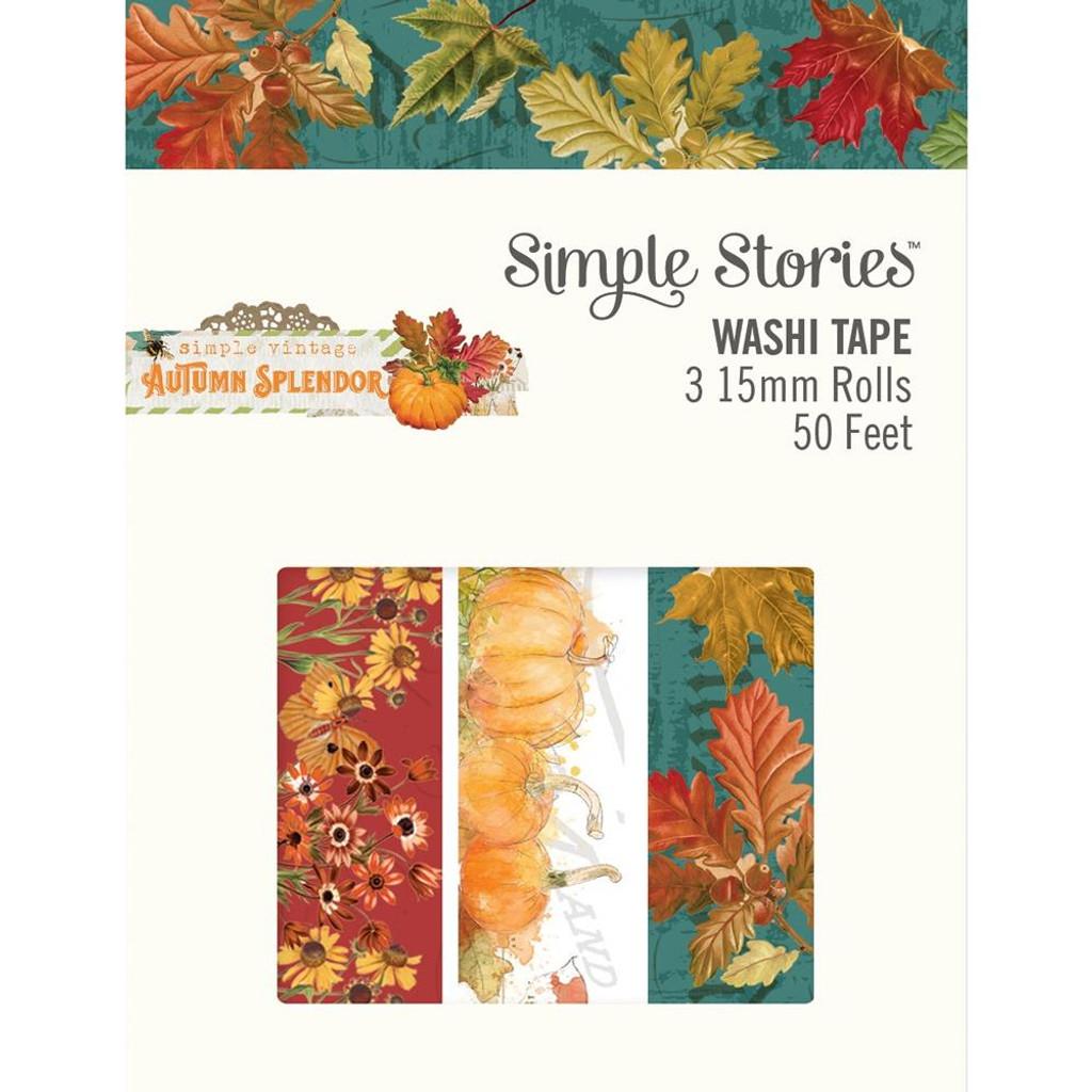 Simple Stories -Washi Tape- Autumn Splendor (UTS11224)