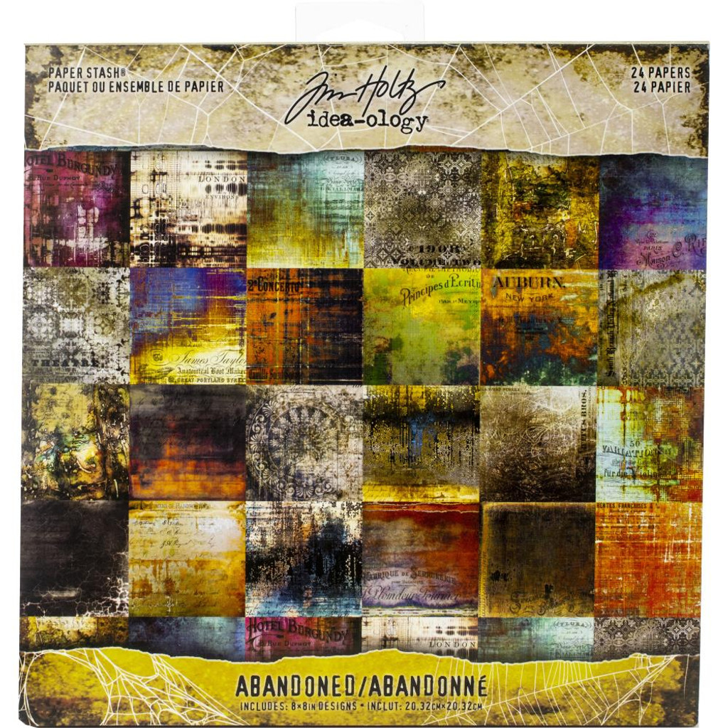 Tim Holtz - 8x8 Paper Pad - Abandoned (TH93962)