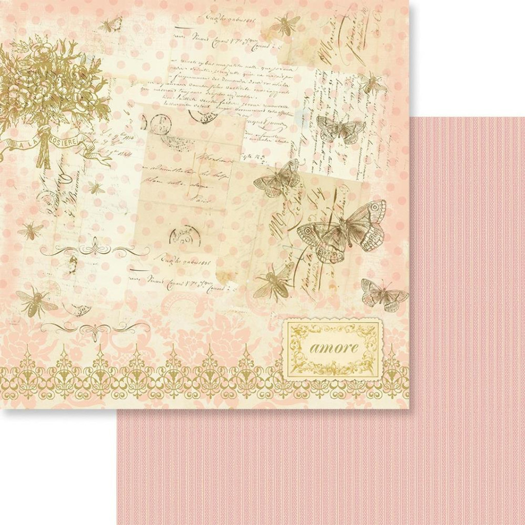 "Couture Creations - Double-Sided Paper 12""X12"" - Butterfly Garden - N03 (CO726529)"