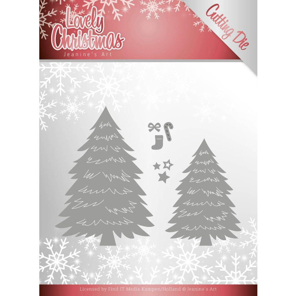 Find It Trading - Jeanine's Art - Lovely Christmas - Trees (JAD10081)