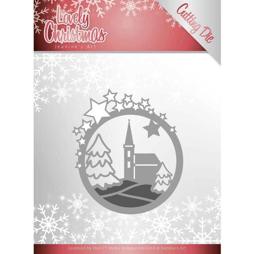 Find It Trading - Jeanine's Art - Lovely Christmas - Church (JAD10082)