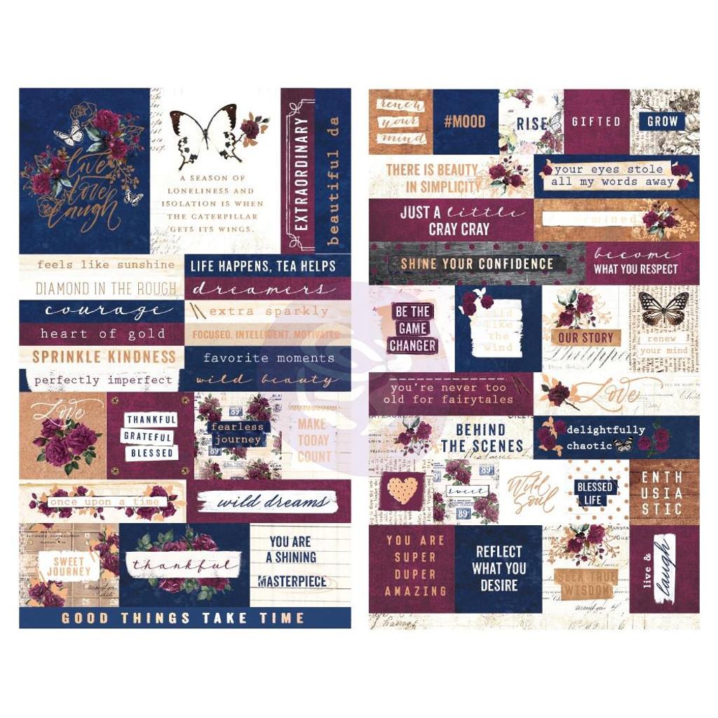 Prima Marketing - Darcelle - Stickers 55/Pkg (642112)