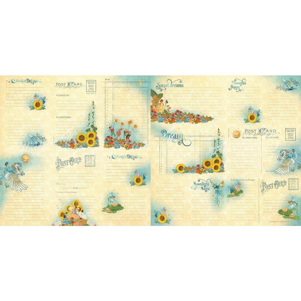 Graphic 45 - Ephemera Journal Cards - Dreamland (G4501935)