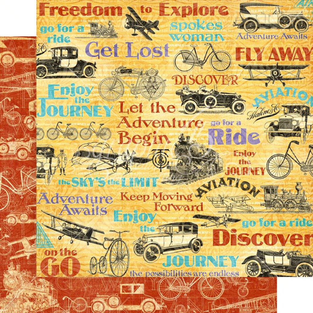 Graphic 45 - 12x12 Paper Collection - Life's Journey (G4501946)