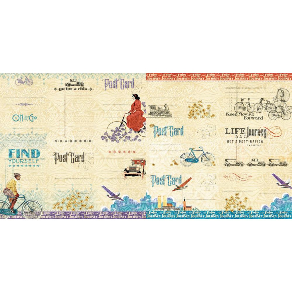 Graphic 45 - Journaling Ephemera Cards - Life's Journey (G4501950)