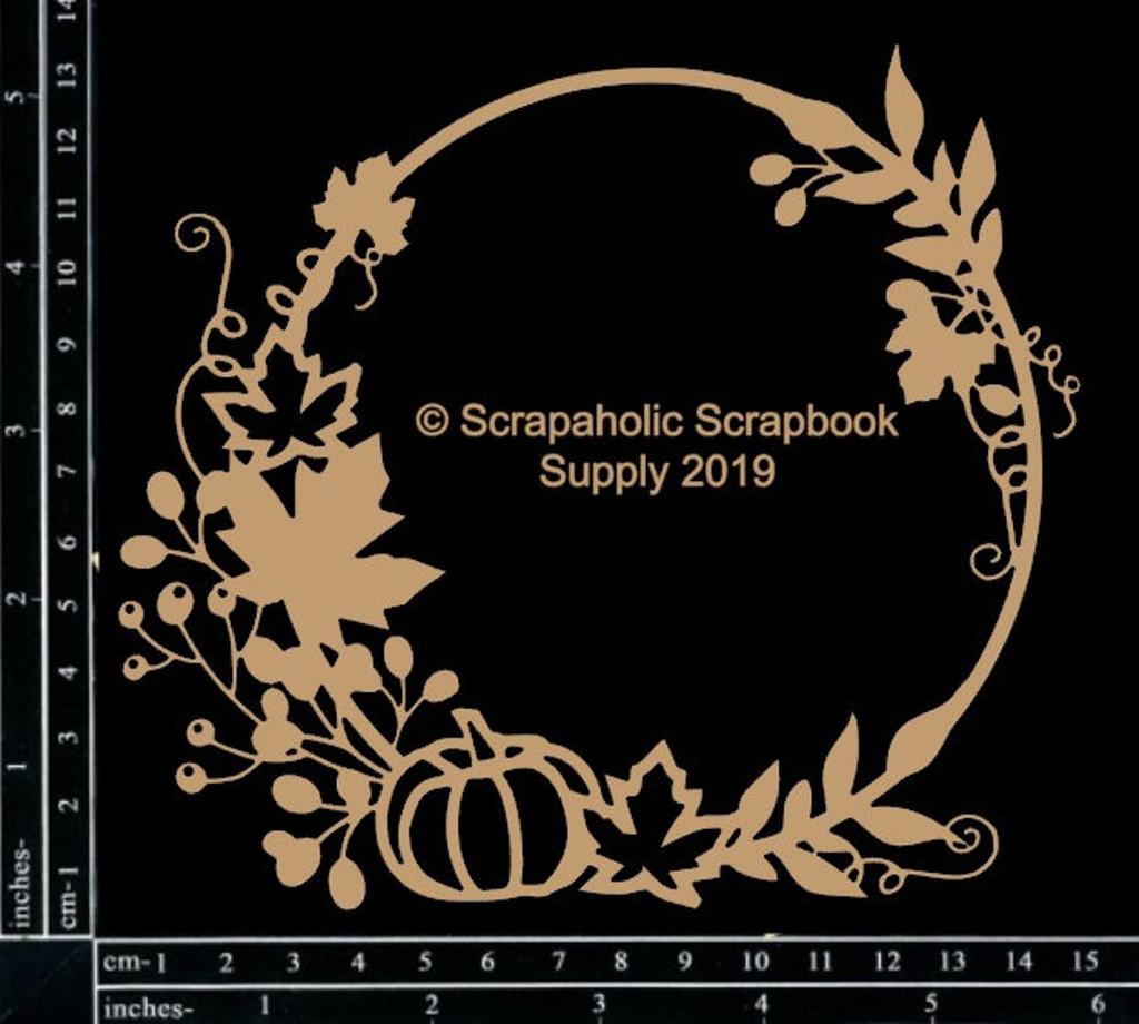 Scrapaholics - Laser Cut Chipboard - Fall Foliage Frame (S52507)