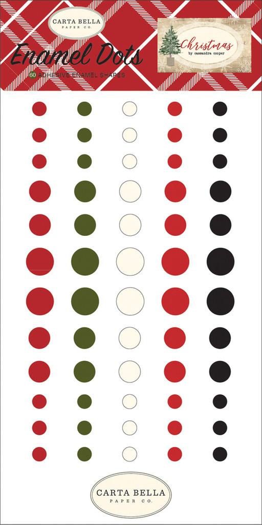 Carta Bella - Decorative Enamel Dots - Christmas (CBCH89028)