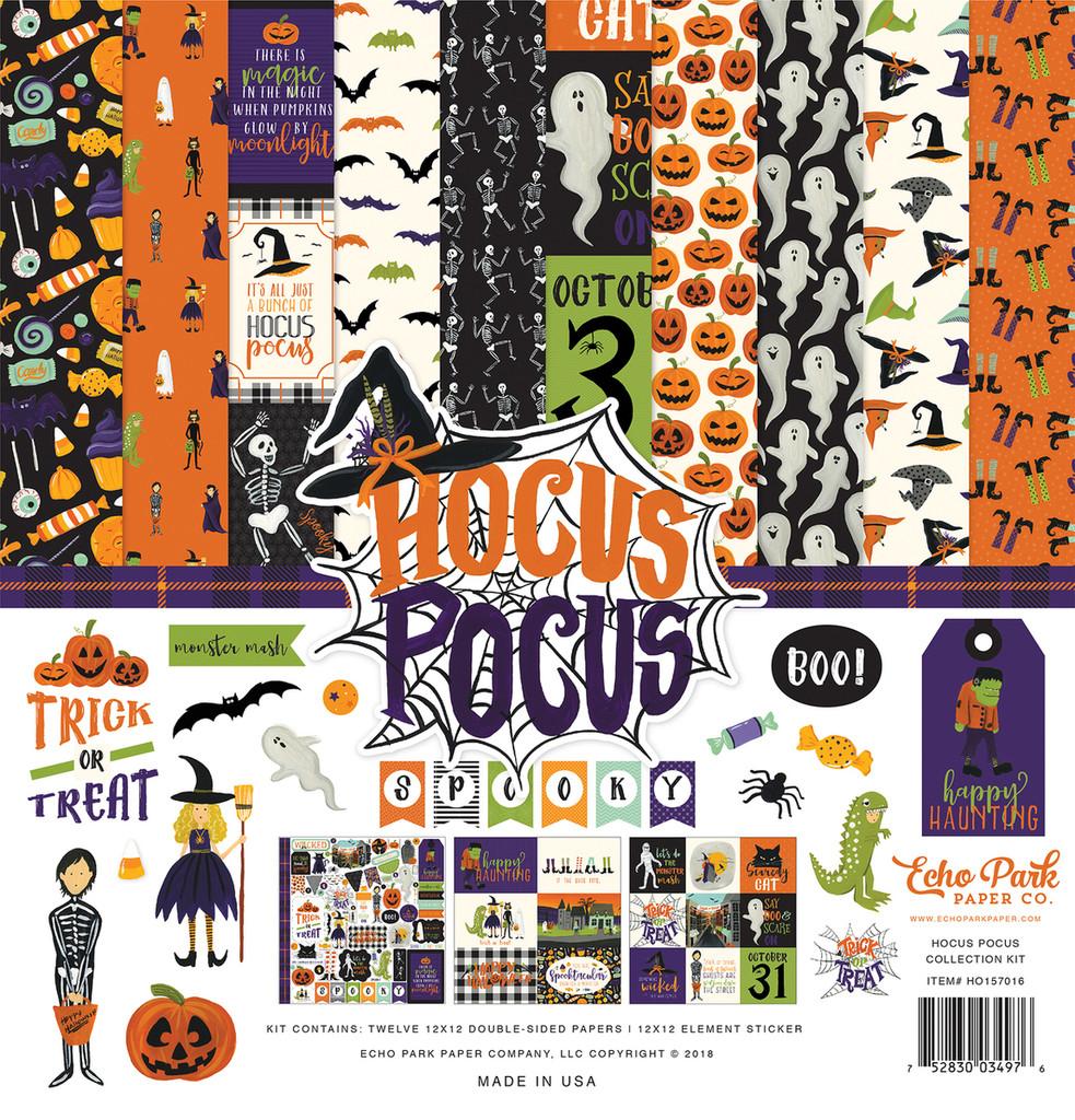 Echo Park - Collection Kit 12x12 - Hocus Pocus (HO157016TM)