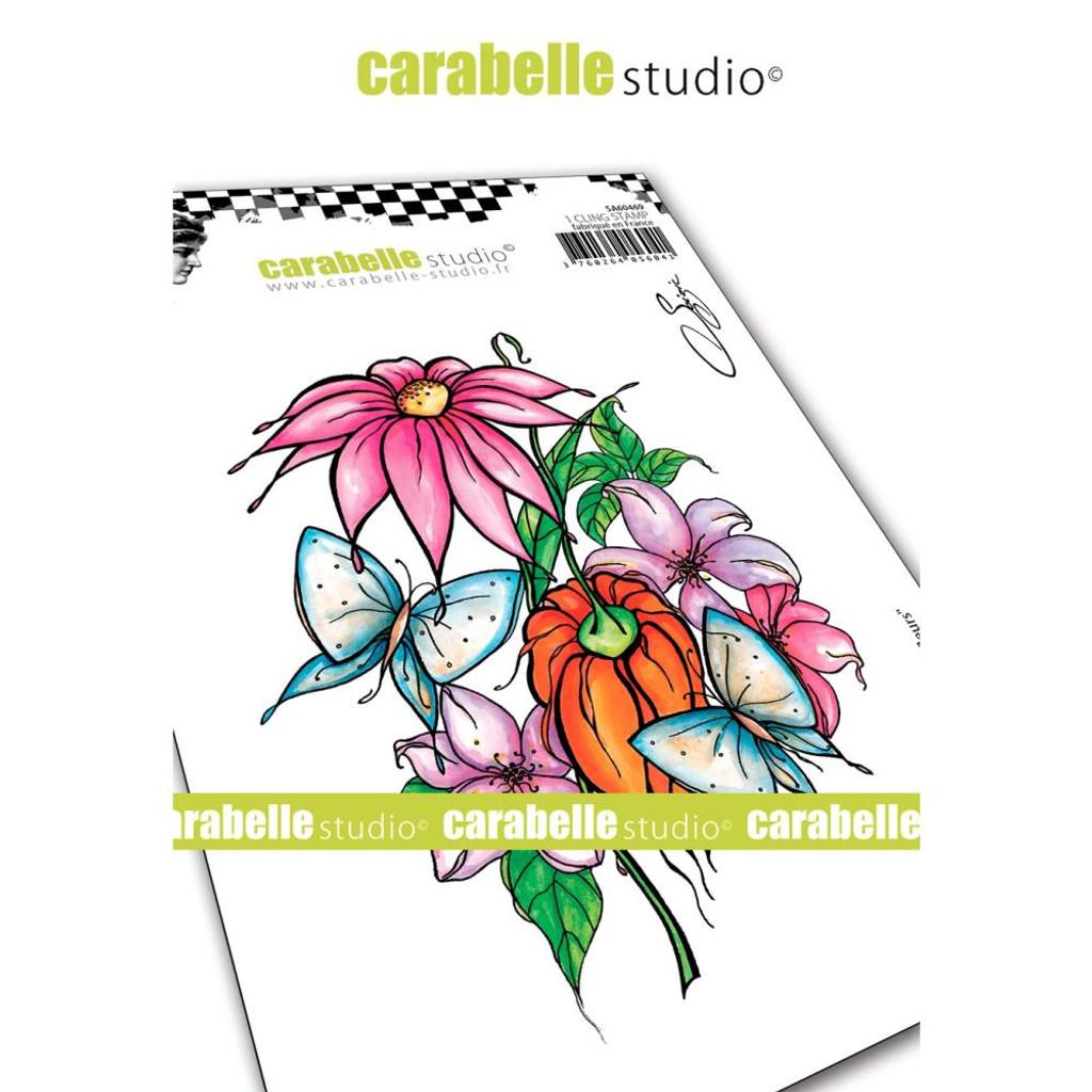 Carabelle Studio - Cling Stamp -Among Flowers (SA60469)