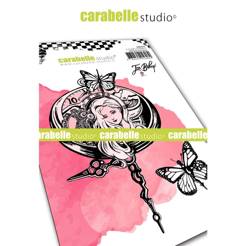 Carabelle Studio - Cling Stamp - Mecanique Du Temps ( SA60473)