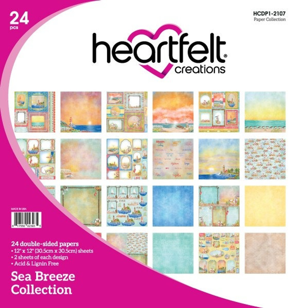 Heartfelt Creations - 20% OFF - I WANT IT ALL -  Sea Breeze Collection