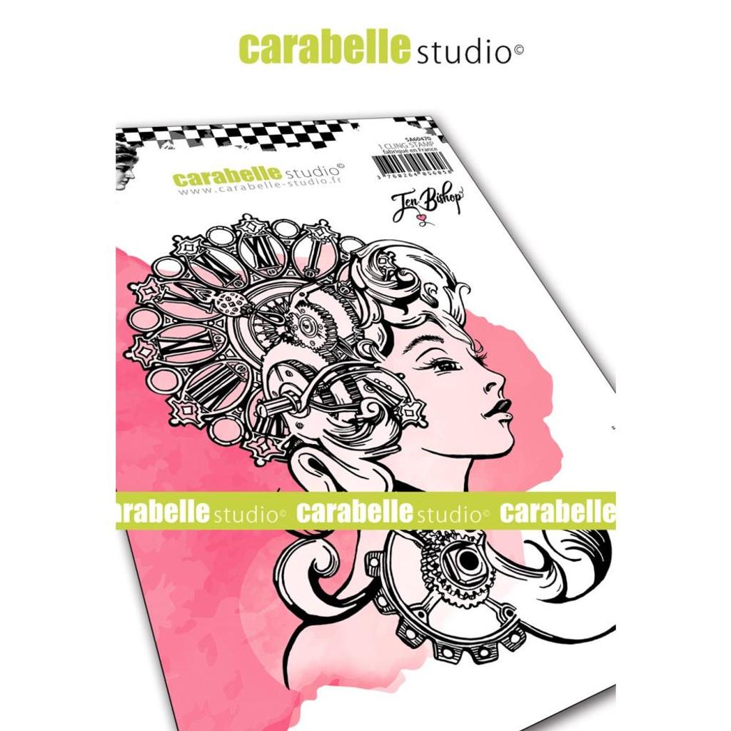 Carabelle Studio - Cling Stamp A6 By Jennifer Bishop - Alexandria (SA60470)
