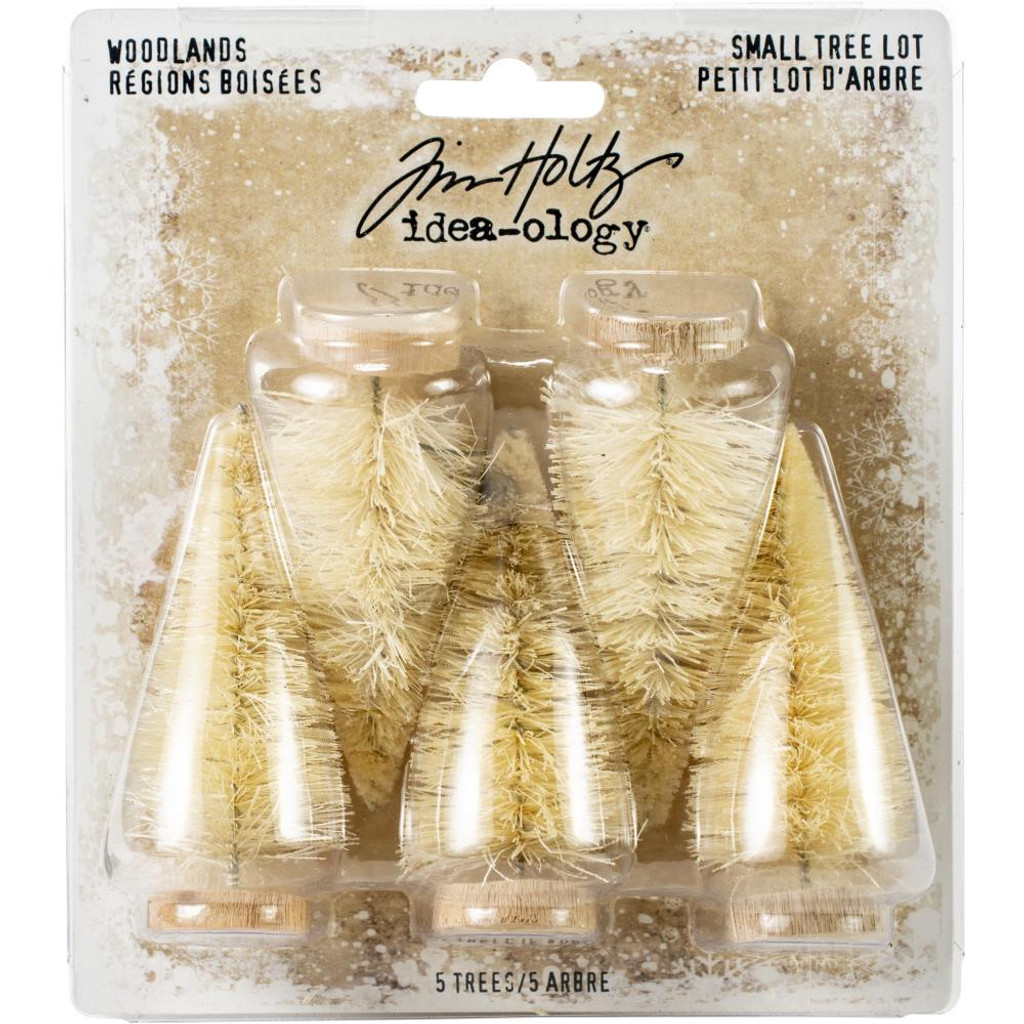 Tim Holtz Idea-Ology - Woodland Small Tree Lot 5/Pkg (TH93757)