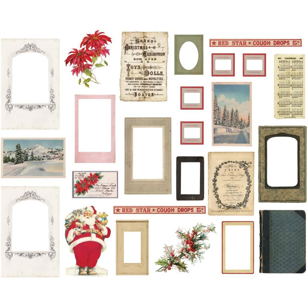 Tim Holtz - Idea-ology - Christmas 2019 Layers & Baseboard Frames 25/Pkg