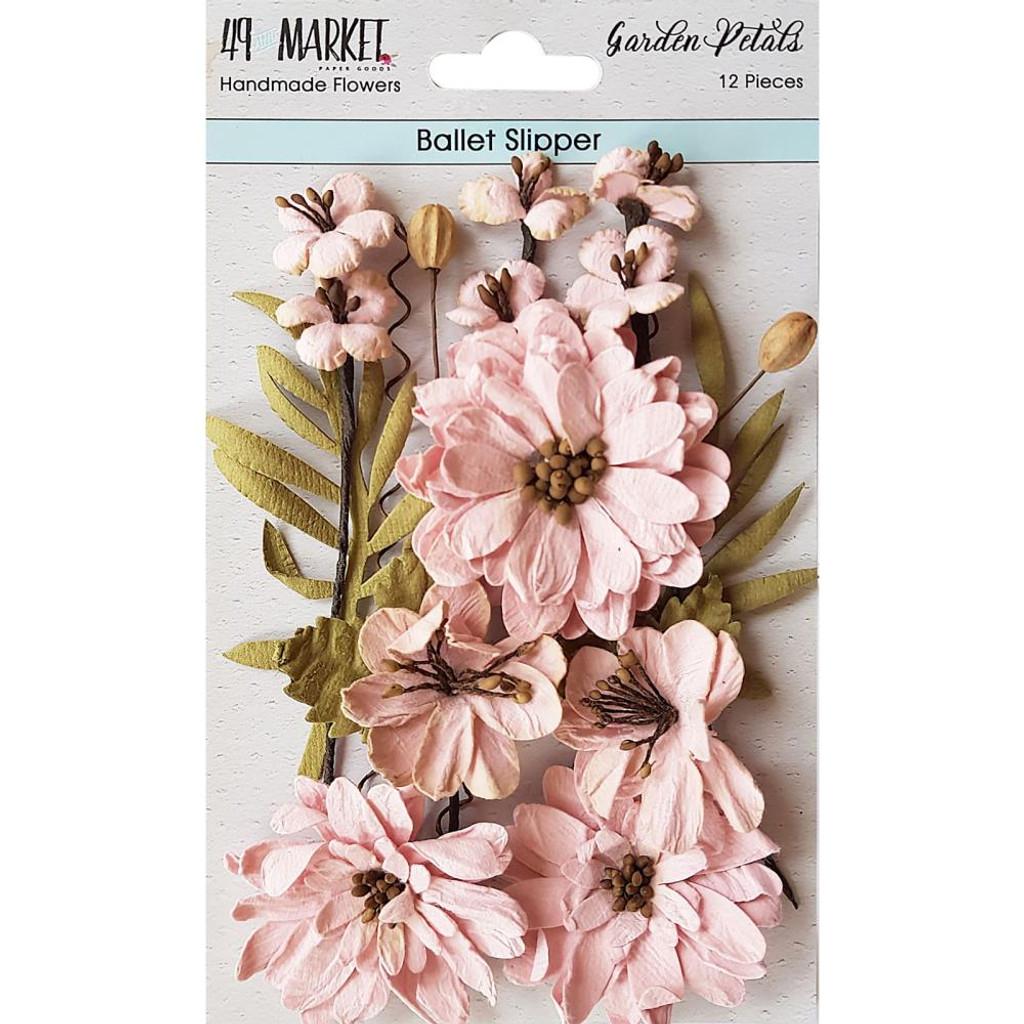 49 and Market - Flowers Garden Petals 12/Pkg - Ballet Slipper (49GP - 88992)