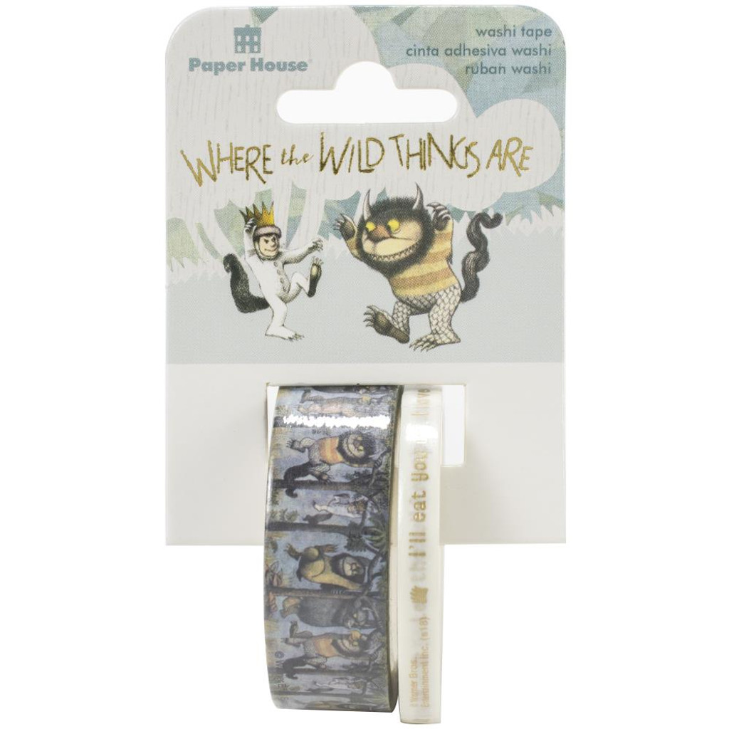 Paper House - Washi Tape - Where The WIld Things Are (STWA0038)