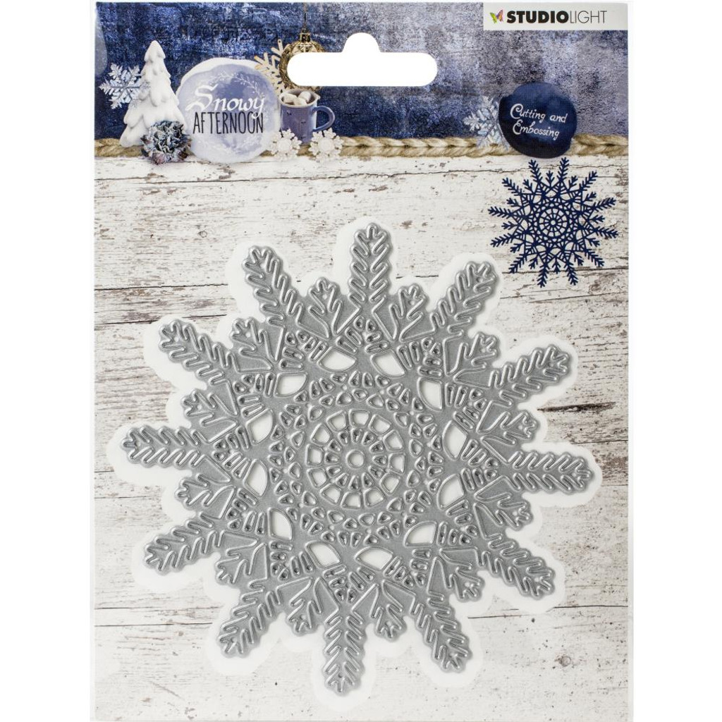 Studio Light - Cutting & Embossing Die - Snowy Afternoon - Snowflake (CILSA216)