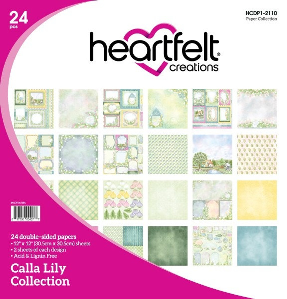 Heartfelt Creations - I WANT IT ALL - Calla Lily Collection (HCS1485 Not Included) (IWIA1117)