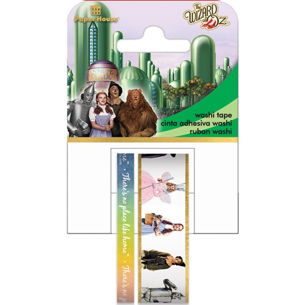 Wizard Of Oz Characters - Washi Tape - Paper House (STWA0044)