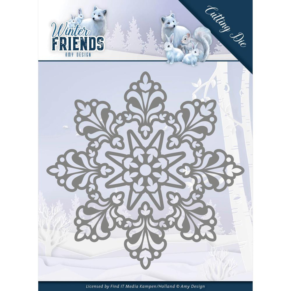 Find It Trading - Amy Design - Winter Friends - Snow Crystal (ADD10191)