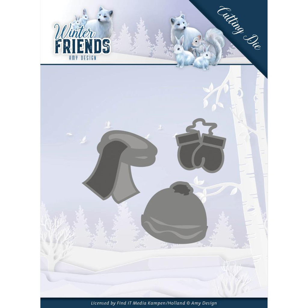 Find It Trading - Amy Design - Winter Friends - Warm Winter Clothes (ADD10196)