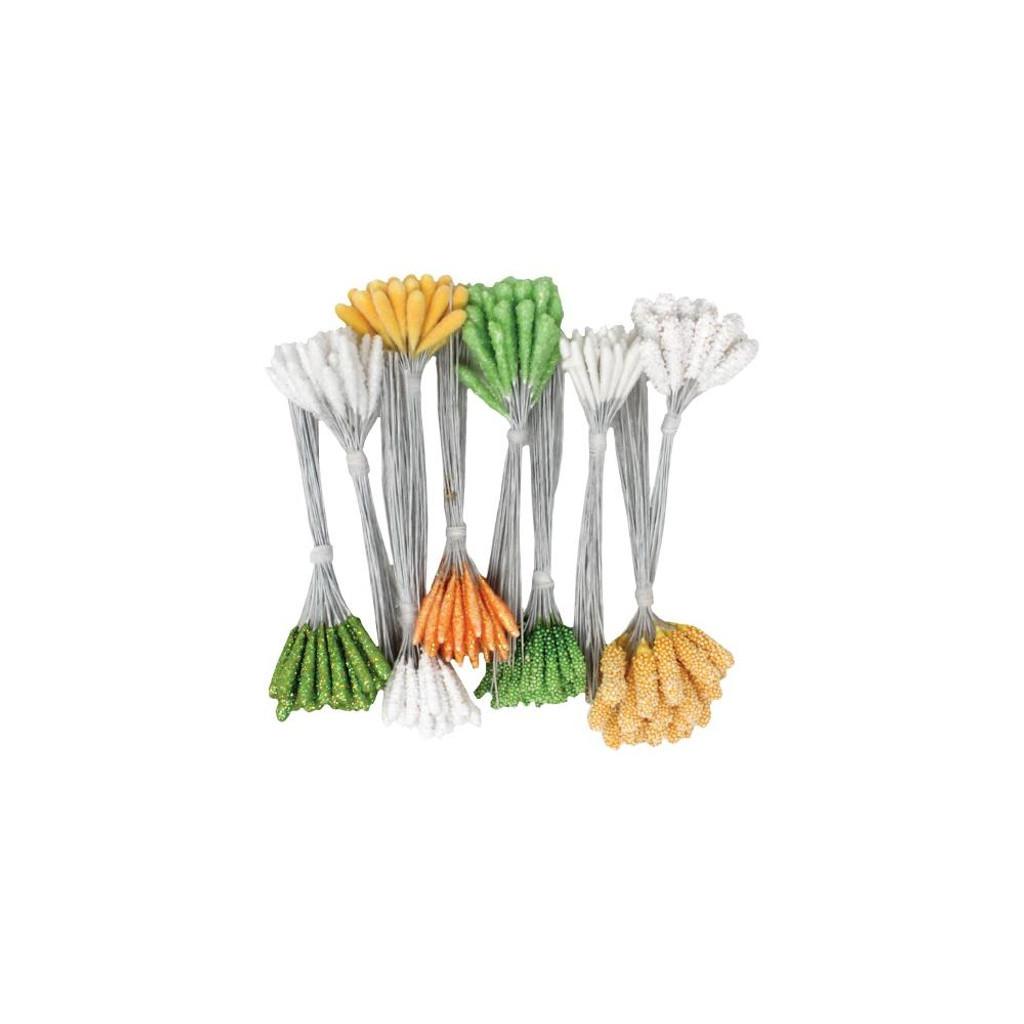Heartfelt Creations - Pastel Pollen Stamens Medium 10/Pkg (HCS1485)