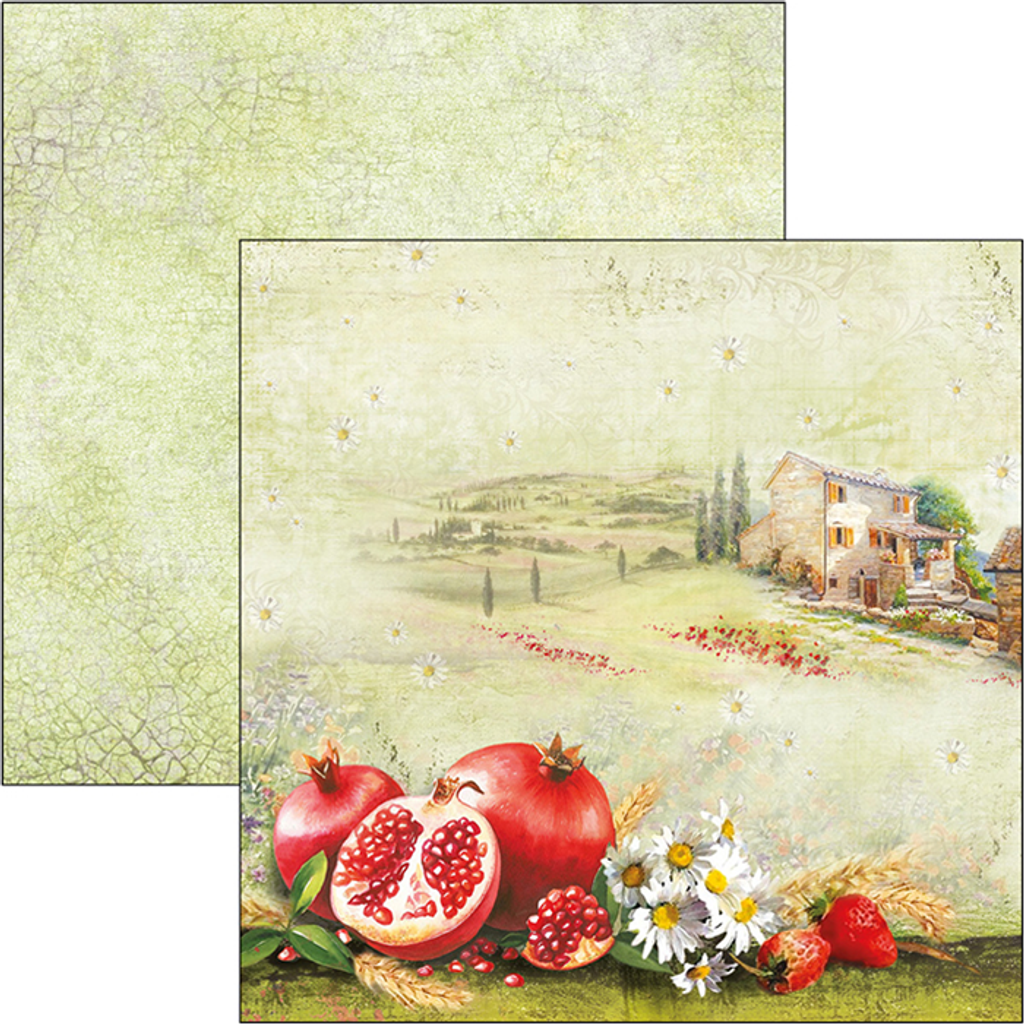 Ciao Bella - Double-Sided Paper Pack 6x6 24/Pkg - Under the Tuscan Sun (CBQ032)