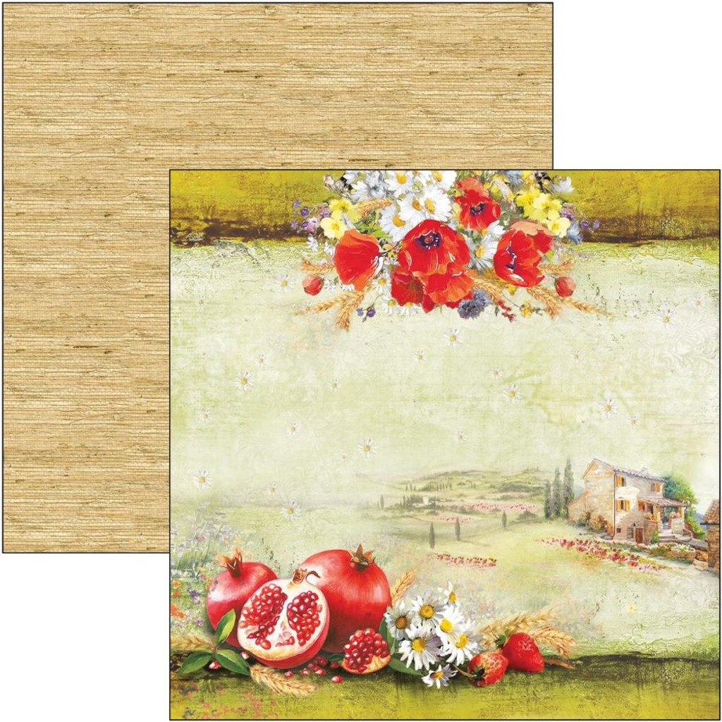 Ciao Bella - 12x12 Double-Sided Cardstock - Under the Tuscan Sun - Tuscan Dream (CBSS100)