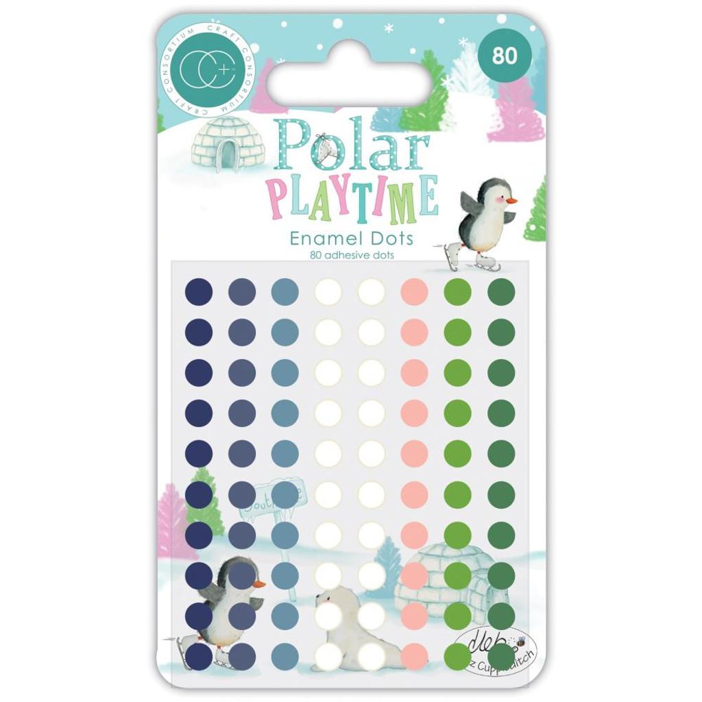Craft Consortium - Adhesive Emanel Dots - Polar Playtime (CADOT006)