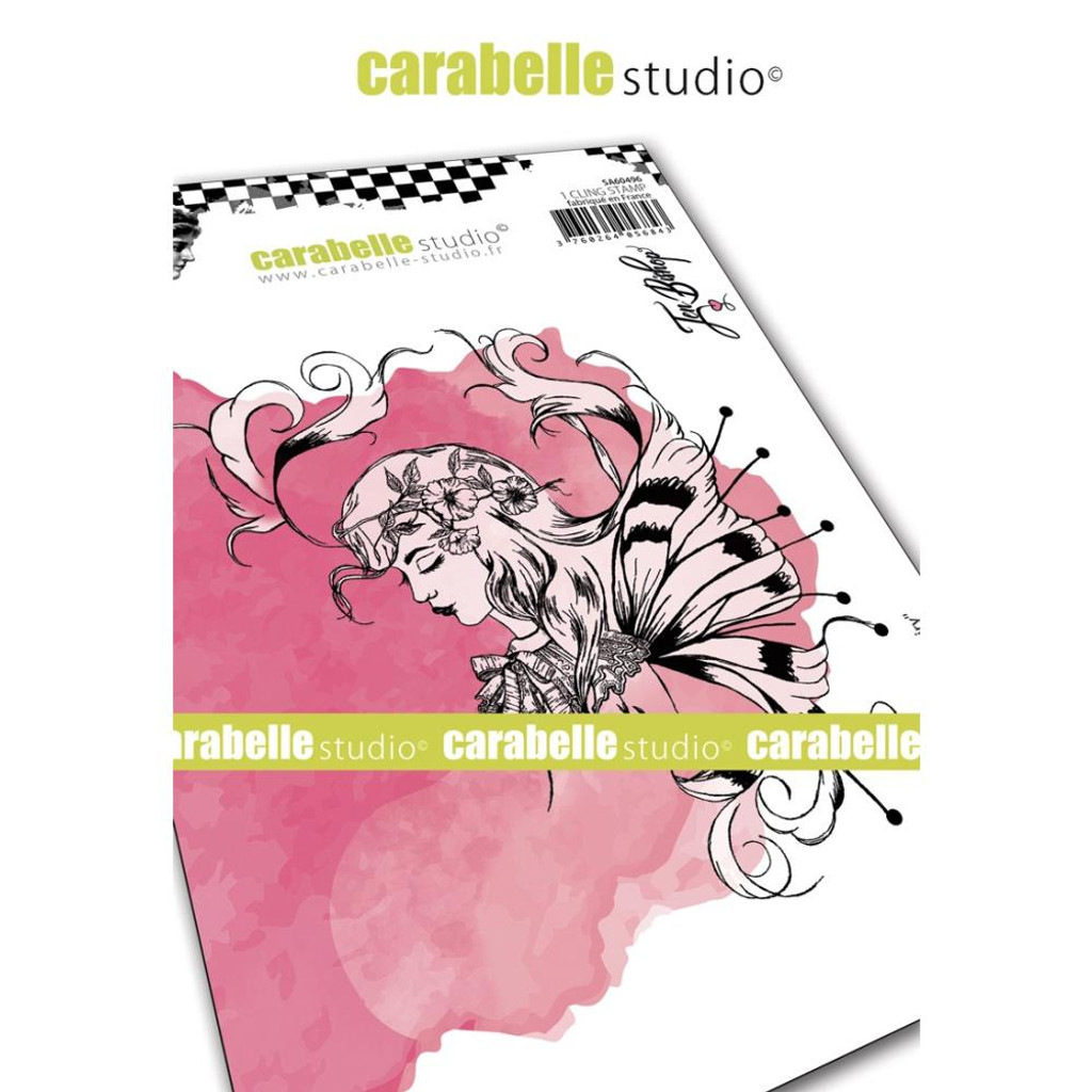 Carabelle Studio - Cling Stamp A6 By Jen Bishop - Sketch Fairy (SA60496)