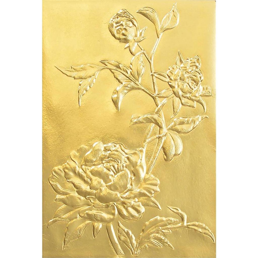 Sizzix - Tim Holtz - 3D Impresslits Die-Cut & Embossing Folder - Roses ( 664189)