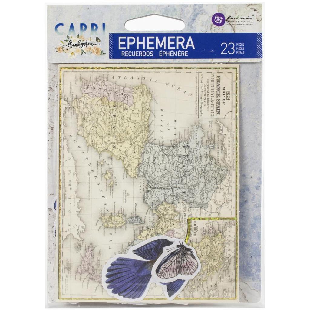 Prima Marketing Frank Garcia - Capri - Ephemera #2 - 23 Pcs (996048)