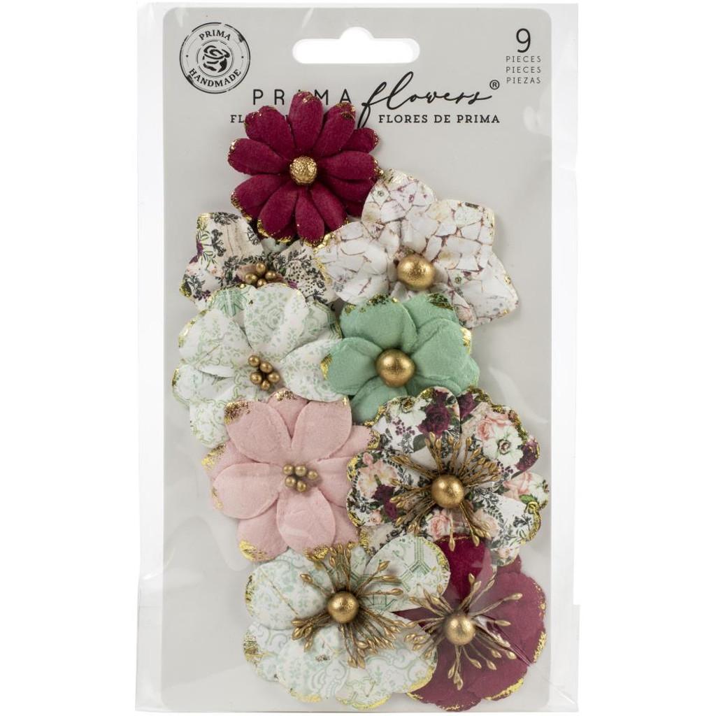 Prima - Pretty Mosaic - Flowers 12pc - Serpentine (646950)